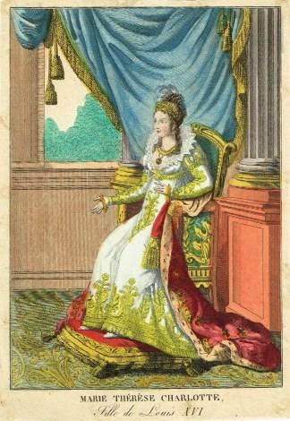 Portrait de Madame Royale - Estampes MAS