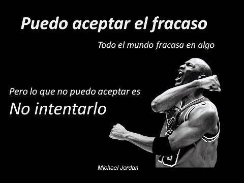 Frase motivación Michael Jordan
