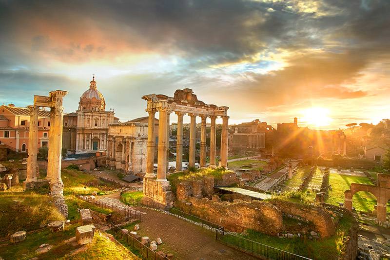 Un Moderno Foro Di Roma.Foro Romano Guida Completa Estate Romana