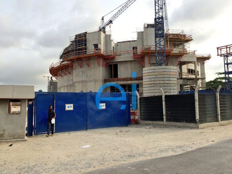 3 Floor Luxury Residential Development at No. 4 Modupe Alakija Street. Image Credit: estate intel. April 2015.