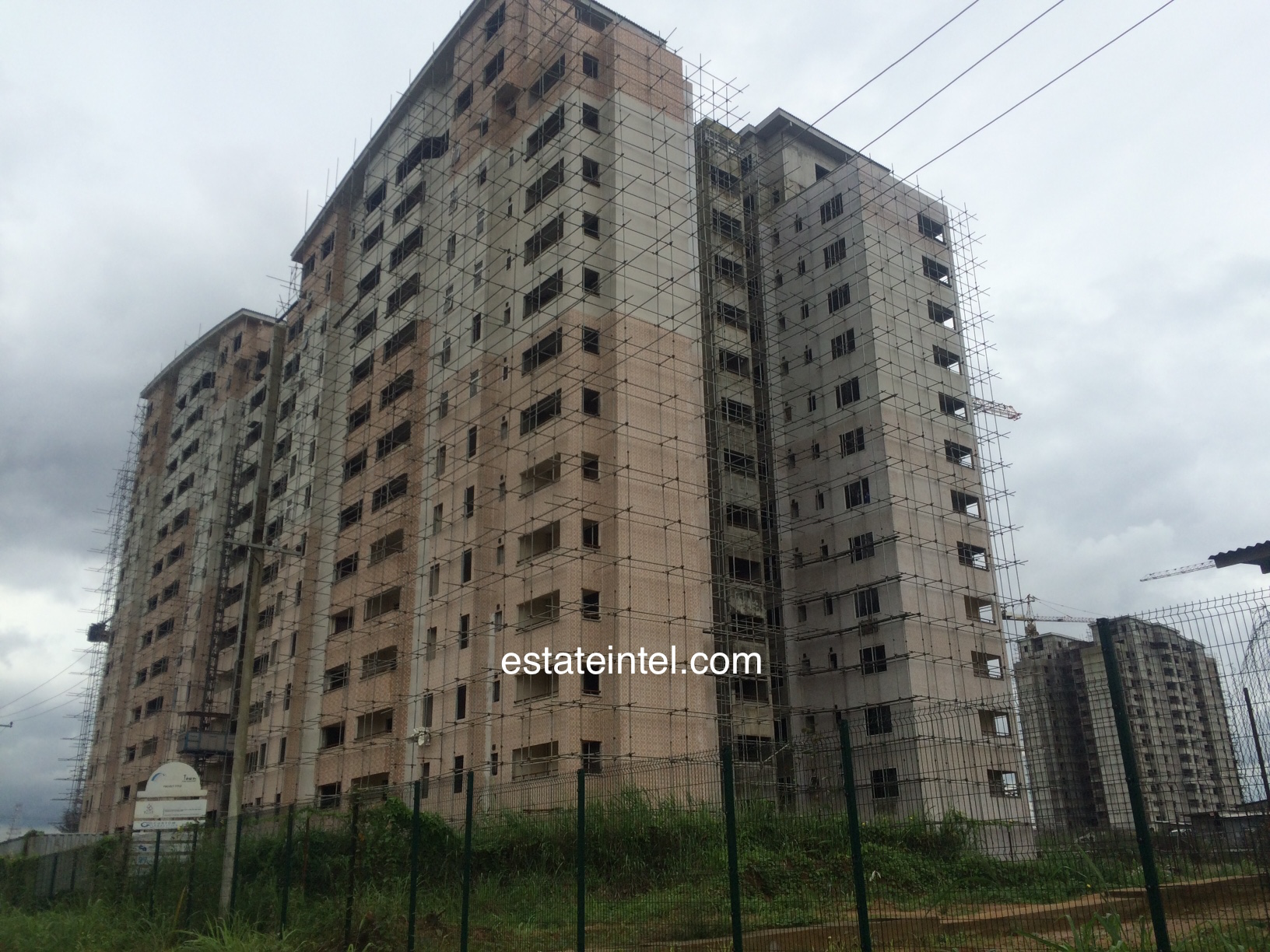 Point Block Tower - Rainbow Town, Port Harcourt. Image Source: estateintel.com