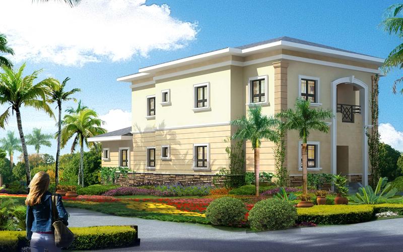Detached Houses - Rainbow Town, Port Harcourt. Image Source: rainboworld-ph.com