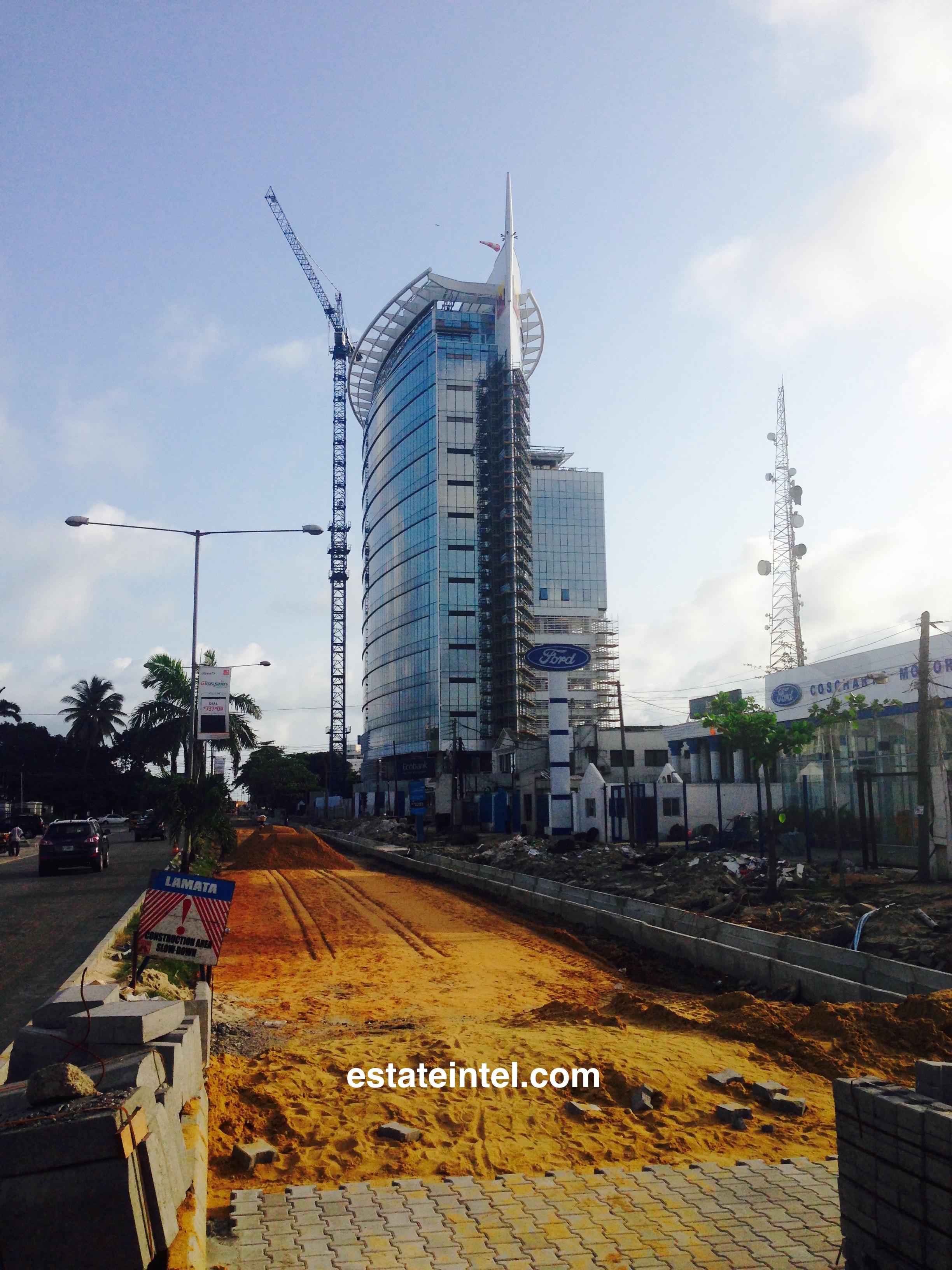 Nestoil Tower, Akin Adeolsa Street - Victoria Island