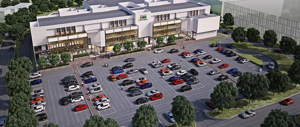 Development: Novare Central Office Park, Wuse 1 - Abuja . Image Source: Novare
