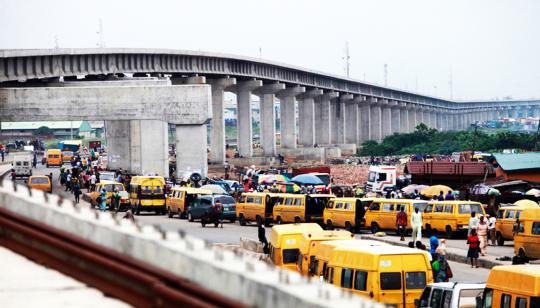 Lagos Urban Rail Network. Blue Line Station. Image Source: Akintunde Adeleye