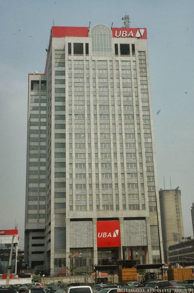 UBA House, Lagos Island. Image source: Logbabay