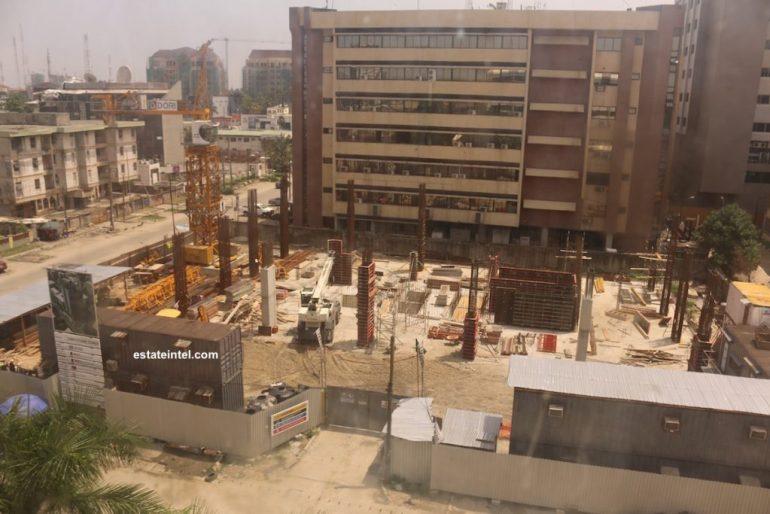 Development: Greystone Tower, Idowu Taylor Street, Victoria Island - Lagos. Developed by Platform Petroleum. Image Source: estateintel.com