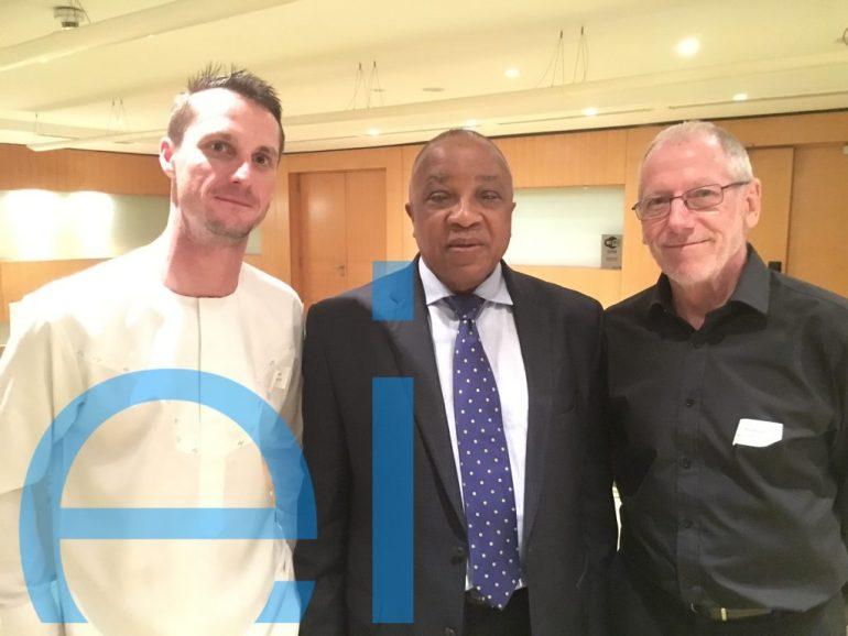 Dillon Rothman - Eris Property Group. Otunba Funsho Lawal - Sogenal Group. Alan Davies - James Cubitt Architects.