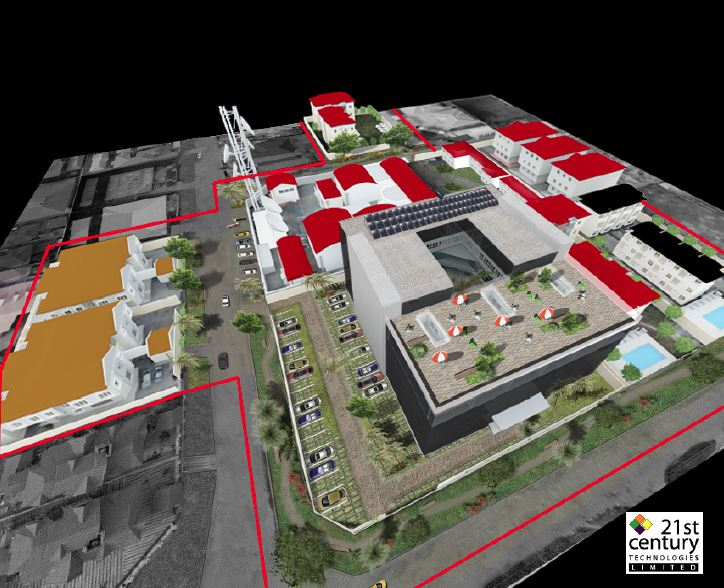 Proposed 21st Century Technologies Campus, Admiralty Way, Lekki Phase 1, Lagos. Image Source: 21st Century.