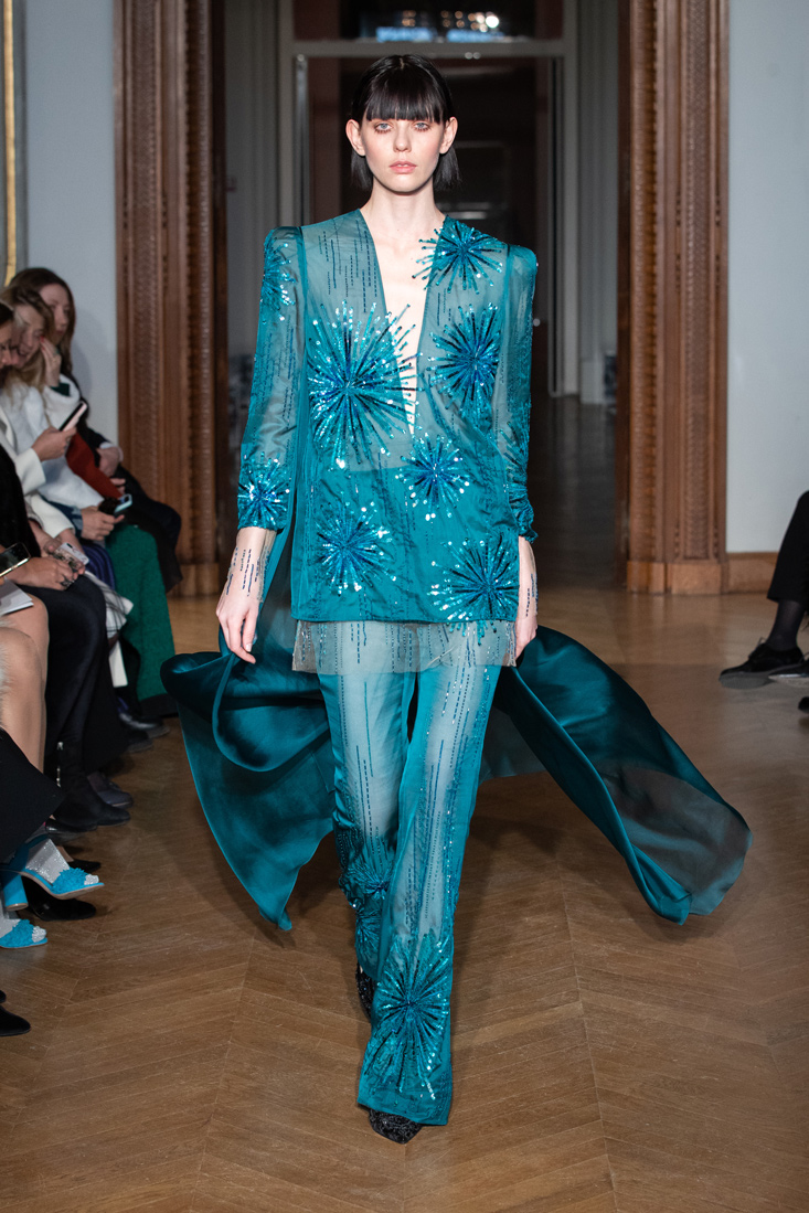 Yanina SS20 Couture Collection at Paris Fashion Week