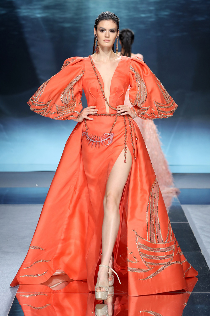 Estela on the Scene: Ziad Nakad AW20 on the Runway at Paris Couture Fashion Week