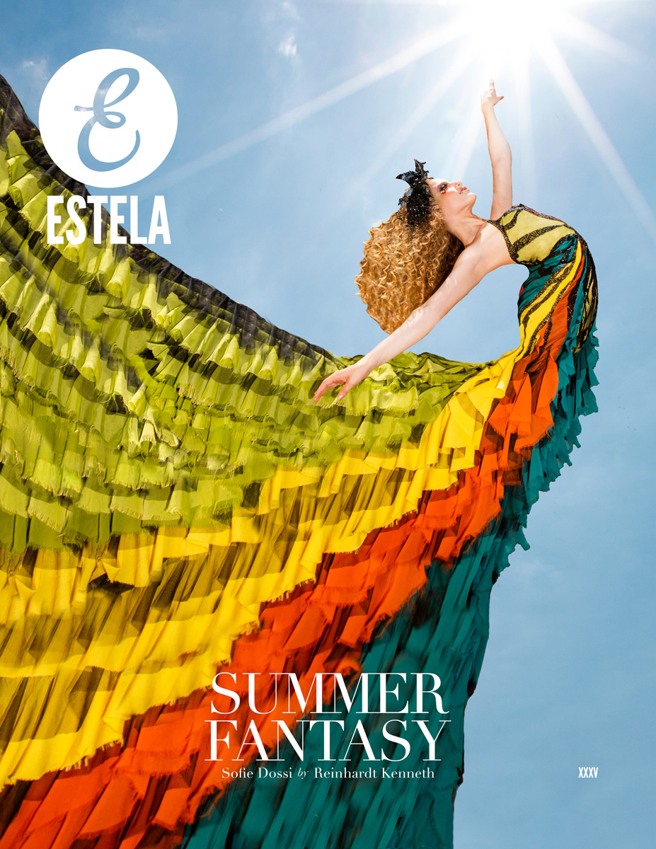 Estela Magazine Summer Fantasy 2020 Issue Starring Cover Girl Sofie Dossi