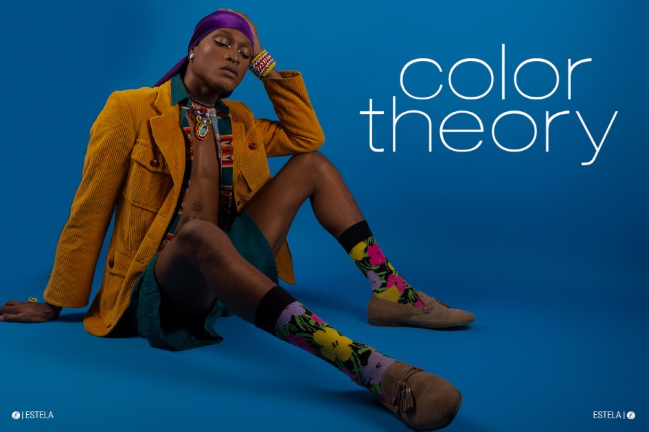 Estela Mag Fashion Digitorial: Color Theory by Clinton Duncan