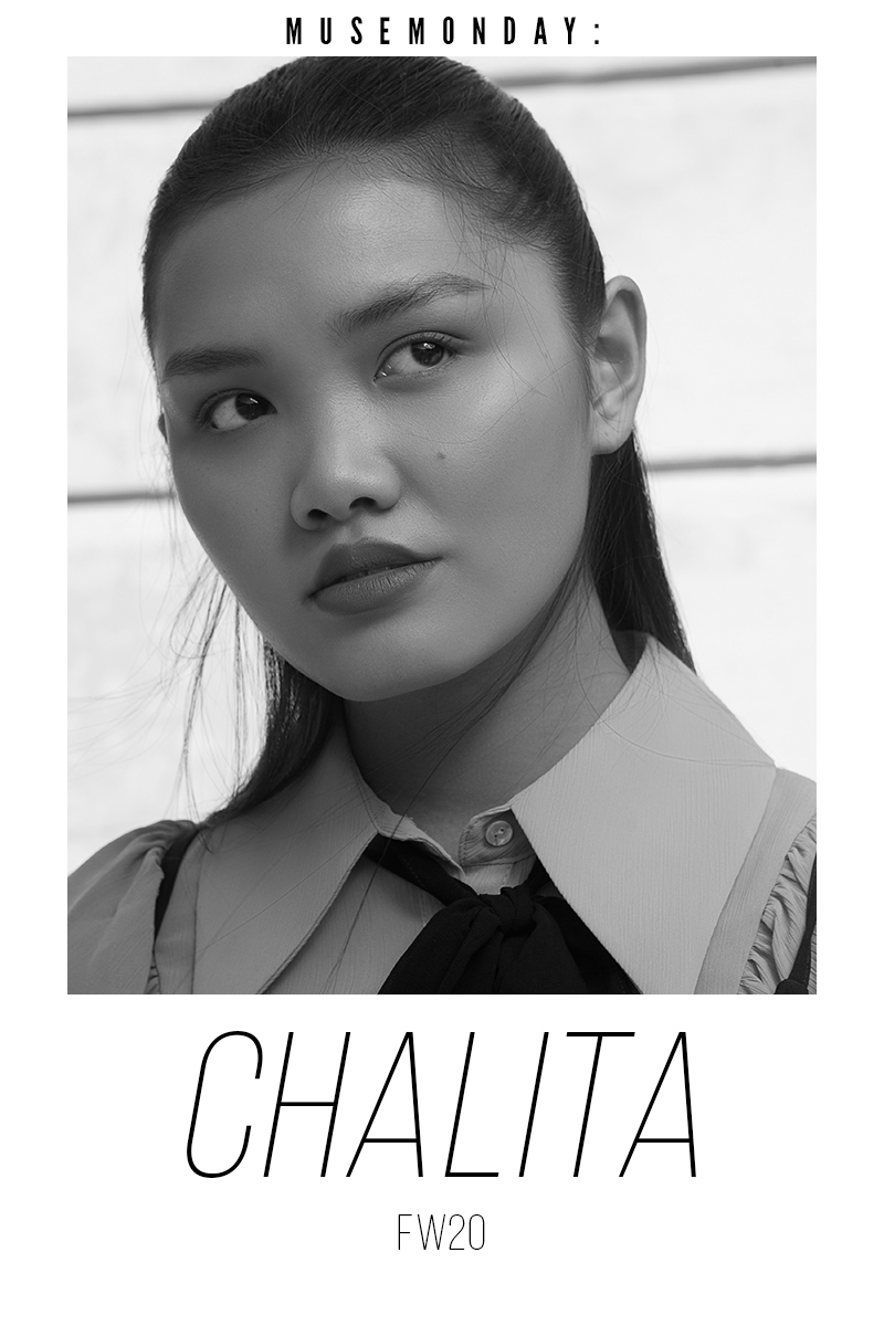 Estela Mag Muse Monday Fashion Test with Chalita