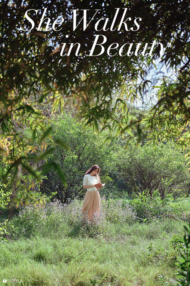 Estela Mag Fashion Digitorial: She Walks in Beauty shot by Ashish Chawla