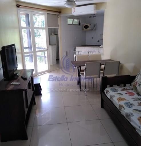 Aluguel Fixo – Apartamento 1 Quarto Centro / Búzios AF05