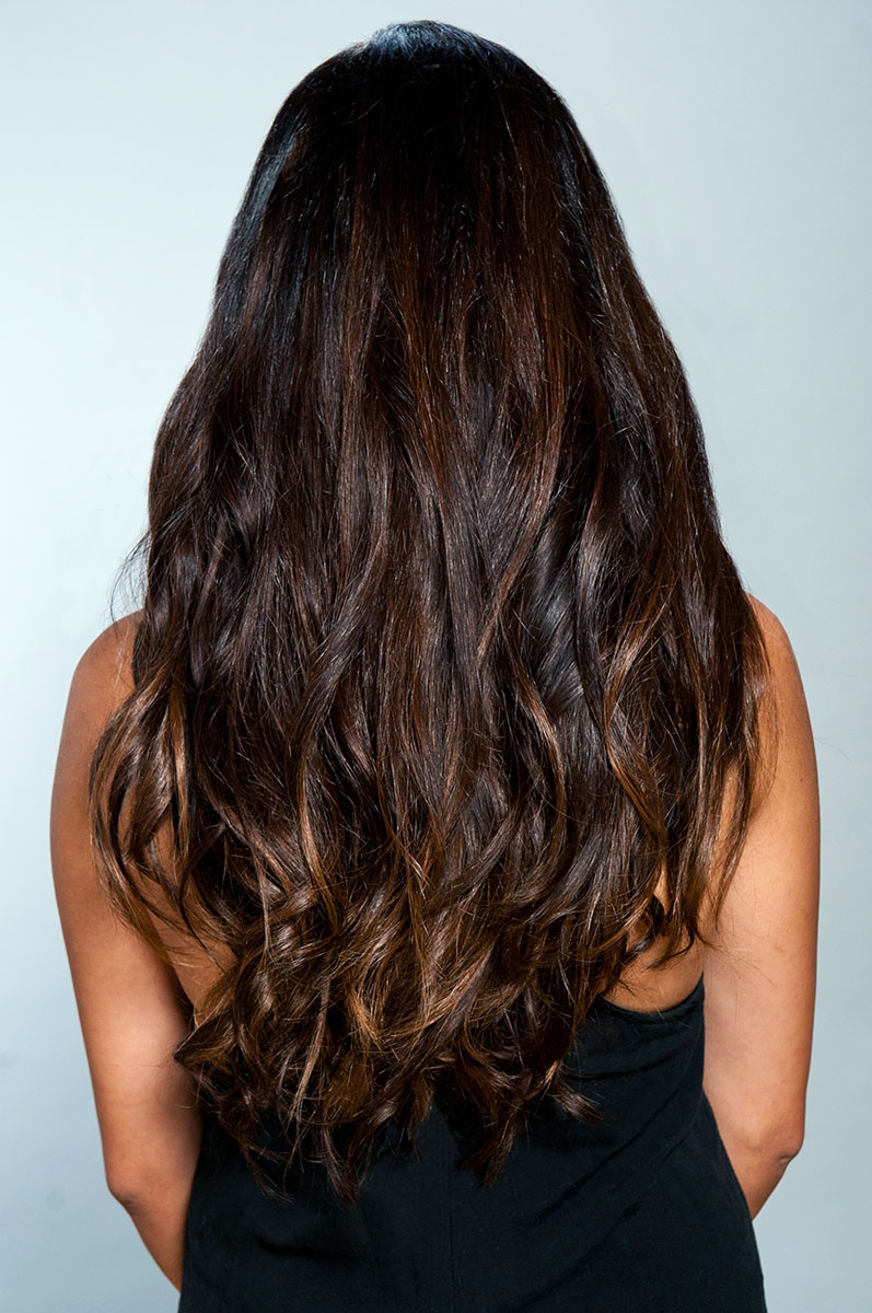 Dark Brown 2 Clip In Hair Extensions Estelles Secret