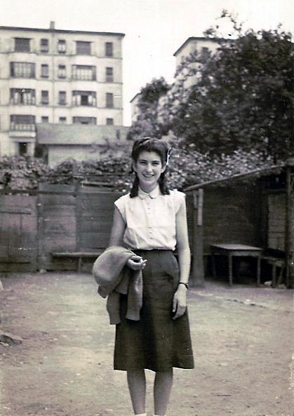 Melchora Flores Alonso (Chorito) a Villeurbanne
