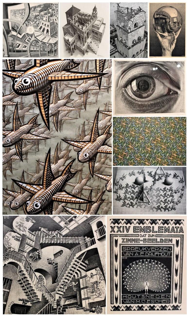 Expo Escher | Los universos imposibles han llegado a Madrid