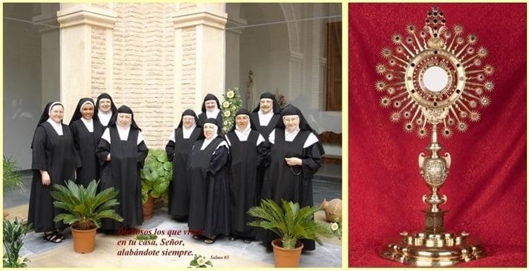 tenemos un blog en la red Blogspot con toda la información del monasterio