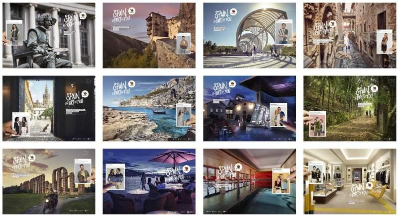 """""""la campaña de publicidad es un elemento básico para el Ministerio de Energía, Turismo y Agenda Digital, y desde hoy el nuevo lema 'Spain is part of you'"""