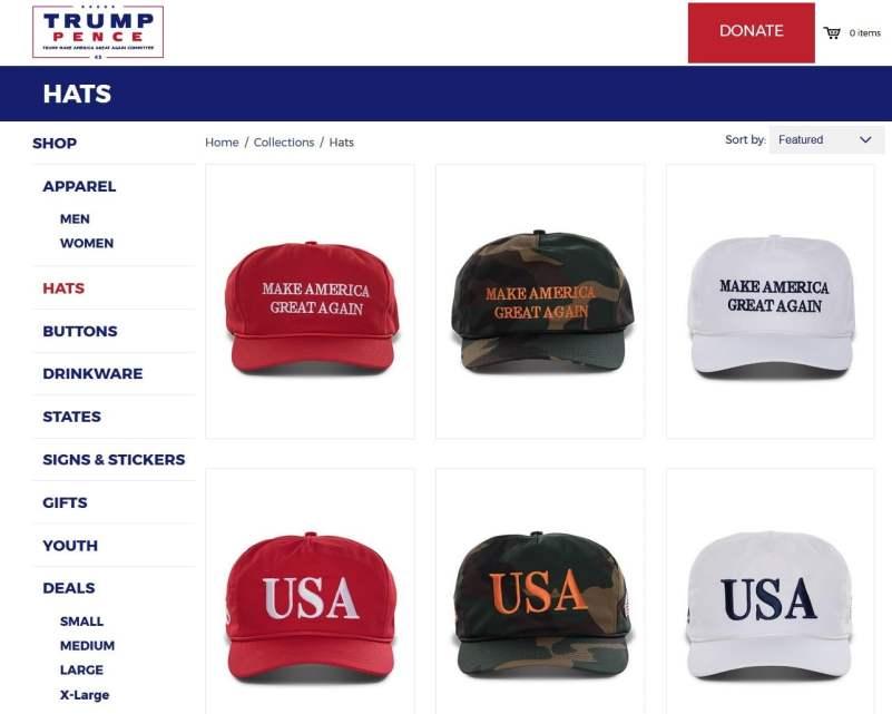 tienda online trump