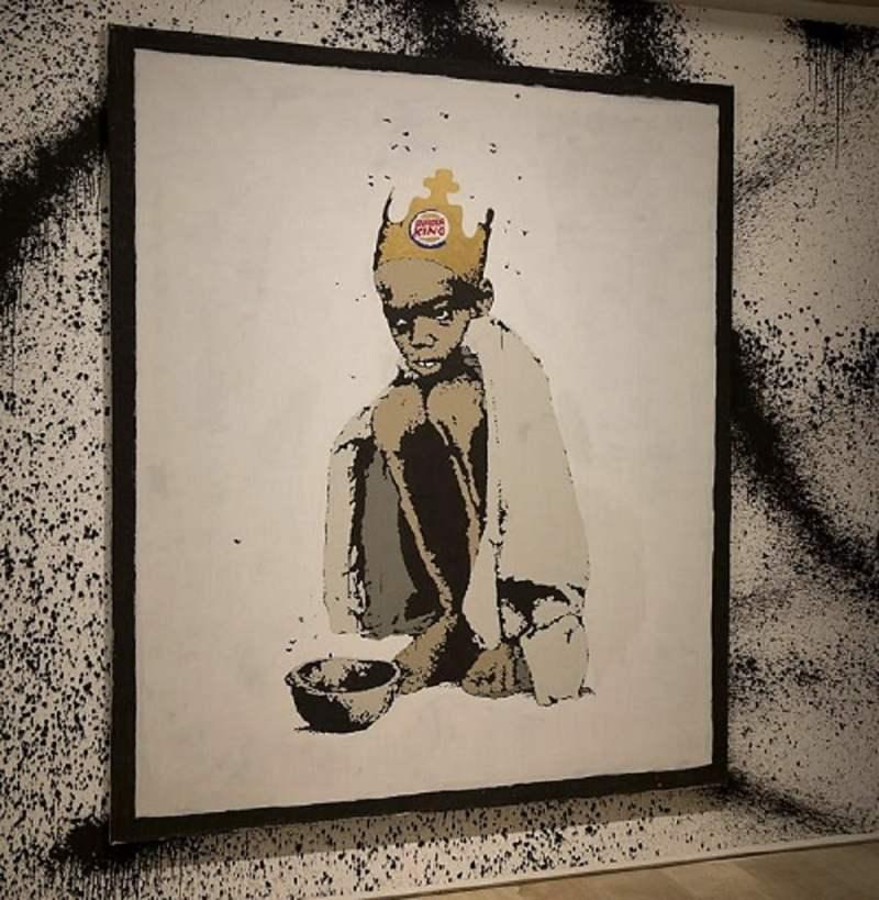 anksy declina desvelar su identidad, pero sus obras se venden en Sothesby's y en Bonhams a precios que no son precisamente