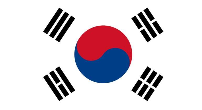 "La bandera coreana se llama ""Taegeukgi"""