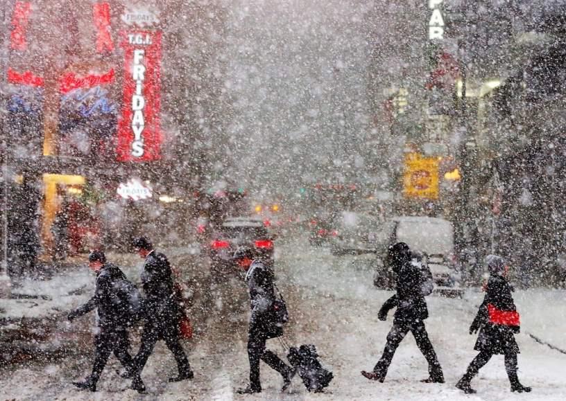 Times Square es una intersección de Manhattan (Nueva York). Estempore.