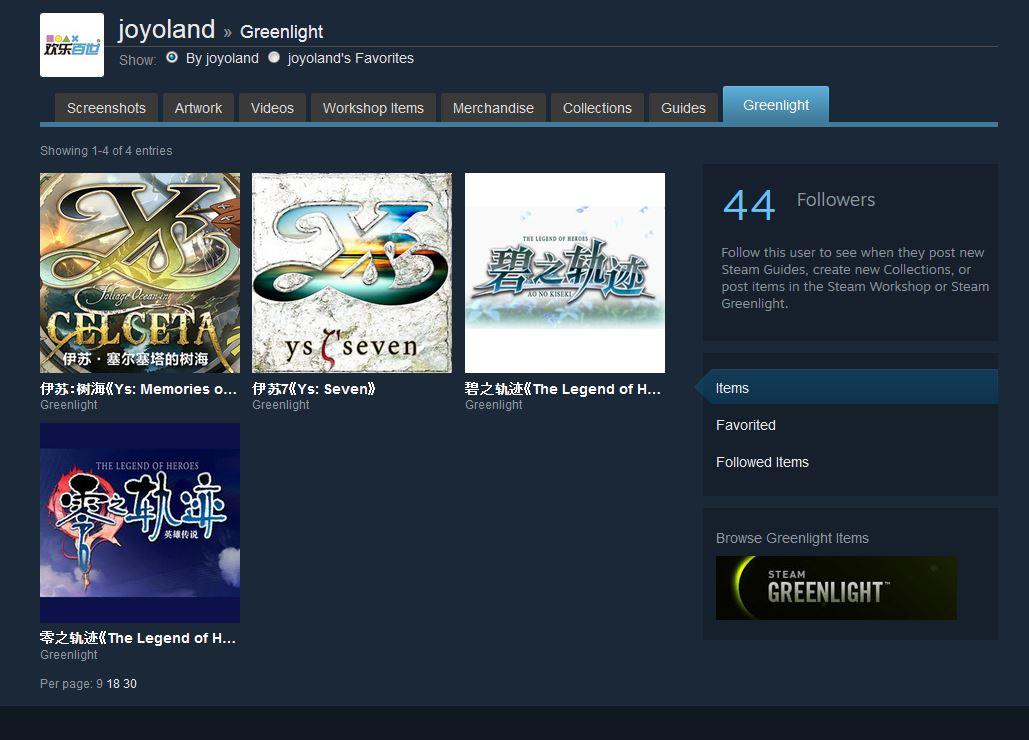 Joyoland Running Their PC Ports on Steam Greenlight