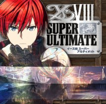 The cover for the Ys VIII Super Ultimate album.