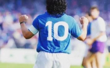 Capelli come Maradona