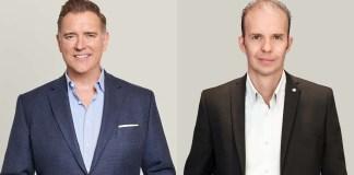 Kao Salon Division nuovo Presidente Dominic Pratt - Cory Couts & Dominic Pratt, Kao Salon Division