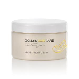 Velvety body cream