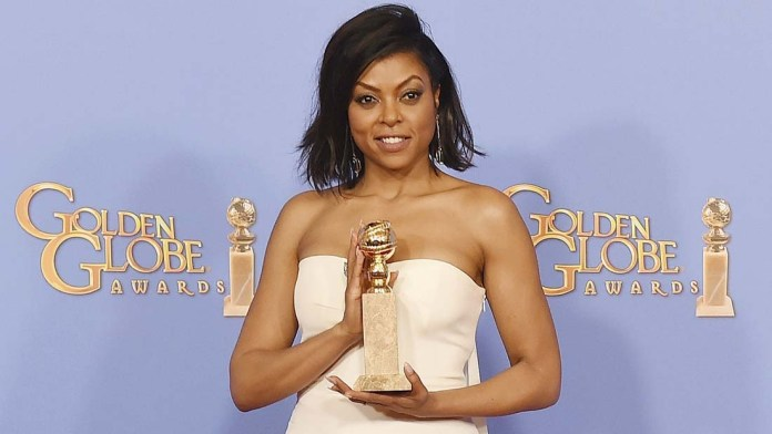 Get the Look! Taraji P. Henson's Golden Globes' Sexy Look by Cesar Ramirez