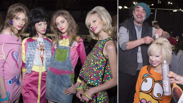 NYFW How-To: Jeremy Scott's Pin-Up Imperfection Look by Wella Professionals