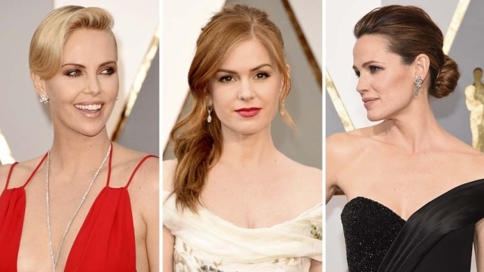 Celebrity Formulas! Tracey Cunningham's Redken Haircolor Trends for the 2016 Oscars