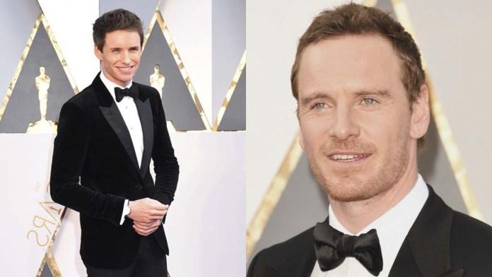 Golden Men! Kevin.Murphy on the Oscars 2016 Red Carpet