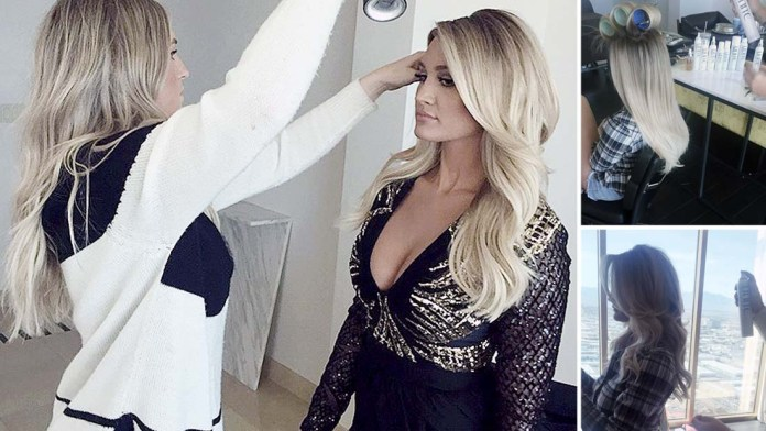 Get the Look! Tauni Dawson prepares Brittany Kerr for her Photo Op with UNITE