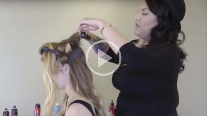 Video Alert! How To Create Big Sexy Voluminous Hair