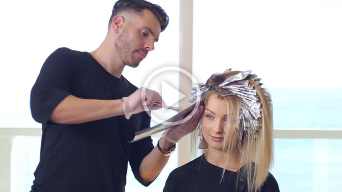 Video Alert! How To: Perfect Blonde Hair Highlights Tutorial with LumiShine