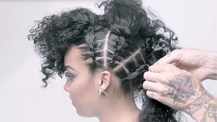 Video Alert! How To: Curly Faux Hawk by James Pecis for Oribe