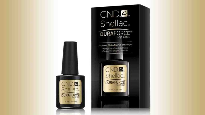 Extra Strong Nails! Discover the NEW CND SHELLAC Brand DURAFORCE Top Coat