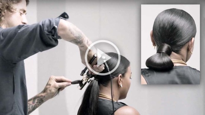 Video Alert! How To: Get the Oribe Chignon look featuring James Pecis