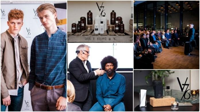 International Success! UK launch of V76 by Vaughn causes Sensation in Men's Grooming!