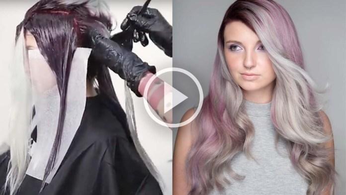 Video Alert! How-To: Smoky Lavender by Presley Poe