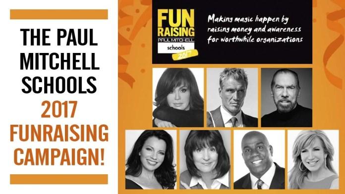 Making Magic Happen! Paul Mitchell Schools launch FUNraising 2017