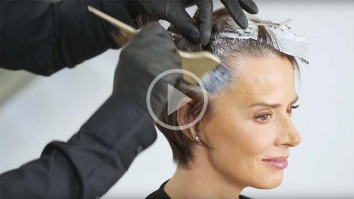 Video Alert! How-To: Desert Taupe Brunette – Gray Coverage Technique