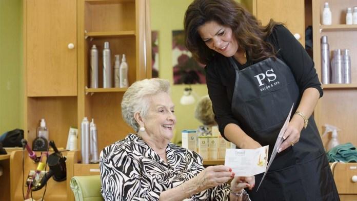 Senior Love! PS Salon & Spa performs Three Millionth Service