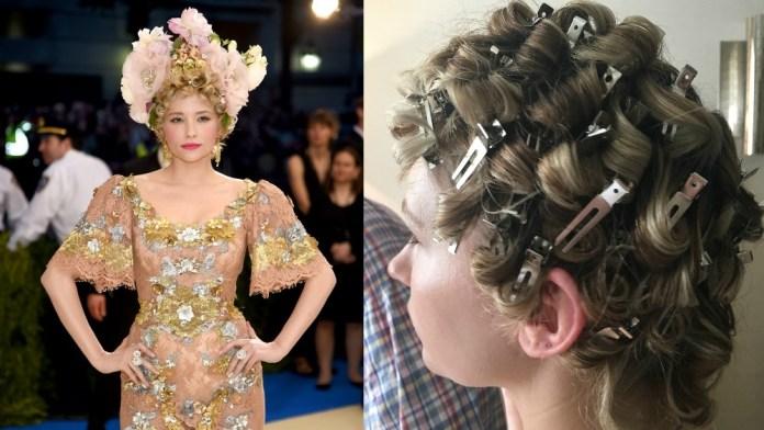 How To: Haley Bennett's Beautiful Curl Extravaganza by Hair Legend Garren @ R+Co